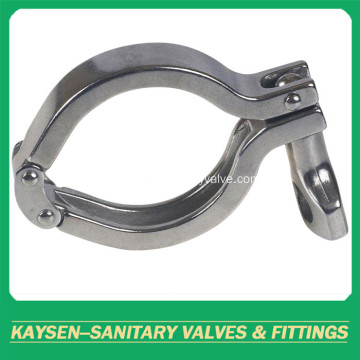 Sanitary 13SF heavy duty double pin pipe clamp